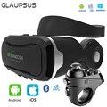 2017 VR VR Shinecon 4.0 3D Виртуальной Реальности Очки Гарнитура КОРОБКА Шлем Наушники Для 4.7-6.0 Дюйм(ов) Смартфонов с R1 Геймпад