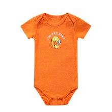 Baby Bodysuit Newborn Print Body Suit Fashion Summer Baby Children Girl Boy Long Sleeve Baby Toddler Jumpers Infant Bodysuit