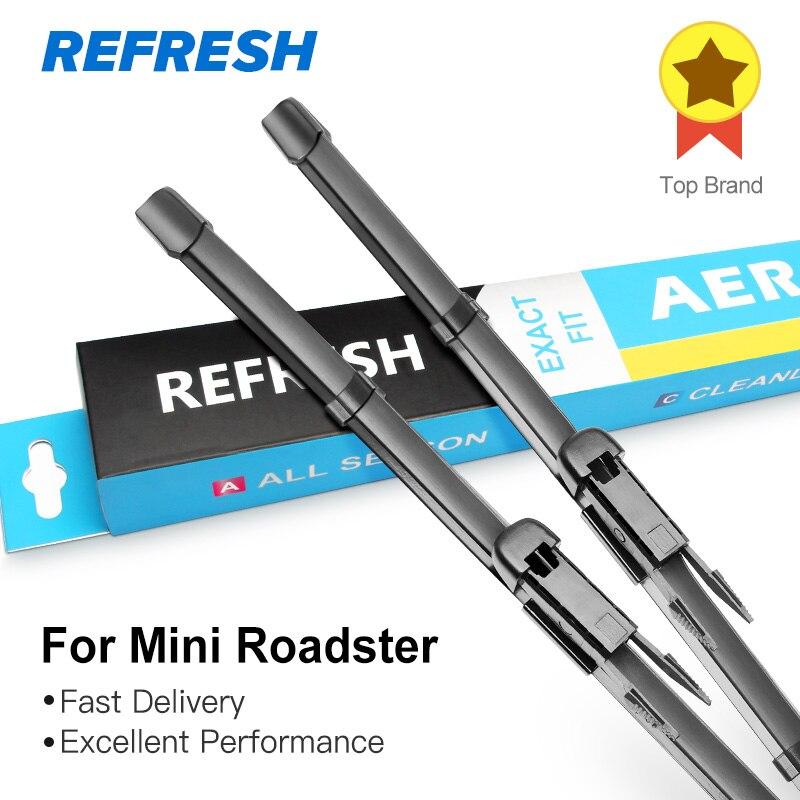 REFRESH Щетки стеклоочистителя для Mini Roadster R59 Fit Pinch Tab Armms 2012 2013