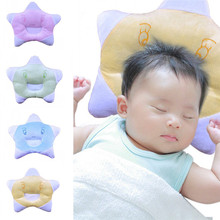 Hot Baby Soft Lovely Cartoon Style Pillow Star Shaped Anti-rollover Velvet Fabric Pillow Stereotypes Shaping Sleeping Bedding
