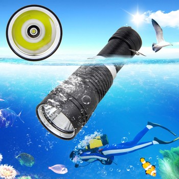 VASTFIRE Underwater 100M Scuba Diving Flashlight XM-L t6 LED 1000 LM Waterproof Diving light Torch 18650 Flashlight
