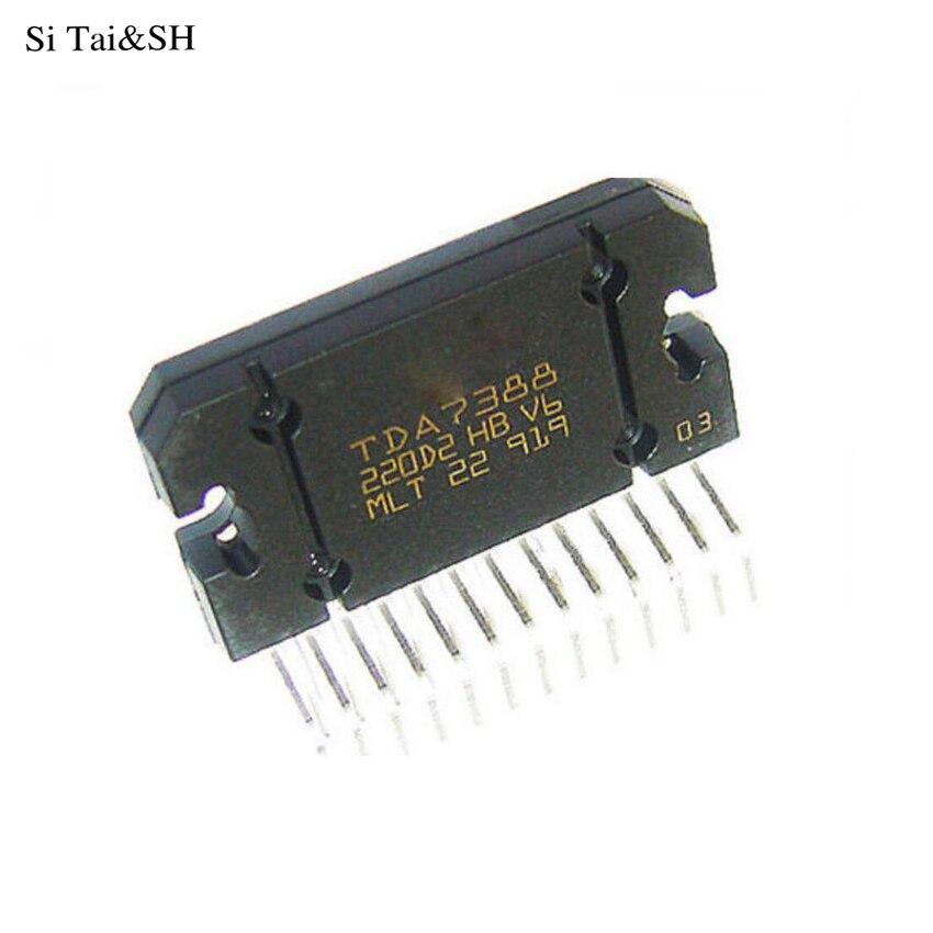 1 шт./лот TDA7388 7388 Zipper 4X41 W мостовый автомобильный аудио усилитель IC