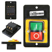 Waterproof Push Button Switch Power On/ Off Switch KAO-5 / BSP210F-1B 10A 380V for Cutting Machine Bench drill Switch