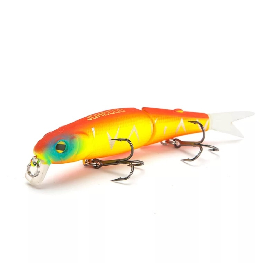 1pcs Wobbler Fishing Lure 88mm 8g Isca Artificial 2 Segment Hard Minnow Bait Spare Tail SwimBait High Quality Fishing Tackle