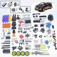 620Pcs+ Technic Parts Liftarm Beam Cross Axle Pin Connector Panels MOC Bricks DIY Bulk Parts Set Building Toys For 20053 Car