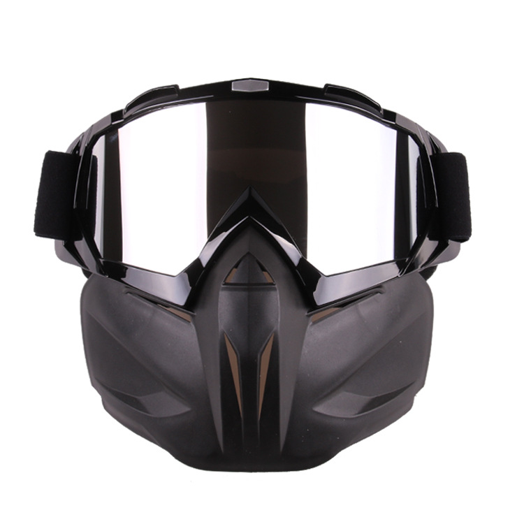 Motorcycle Goggles Helmet Mask Outdoor Riding Motocross Skulls Windproof Wind Glasses Motorcycle Goggles Protector R20