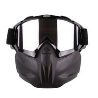Gafas protectoras para motocicleta  casco para conducción al aire libre  gafas de viento a prueba de viento con calaveras para Motocross  gafas protectoras para motocicleta r20