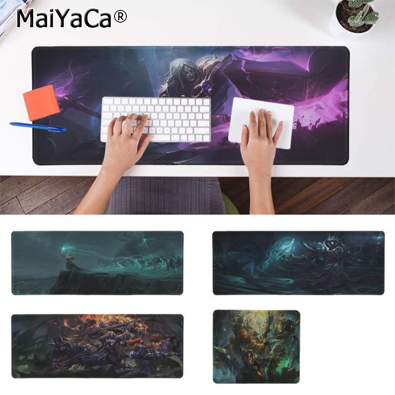 Maiyaca Simple Design KARTHUS  LEAGUE OF LEGENDS Large Mouse pad PC Computer mat Rubber PC Computer Gaming mousepad