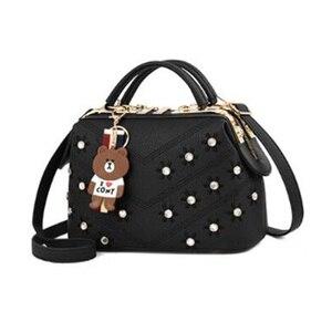 Image 2 - Frauen Handtaschen 2020 Neue Weibliche Koreanische Handtasche Crossbody Förmigen Süße Schulter tasche Blumen Kleine Taschen X474