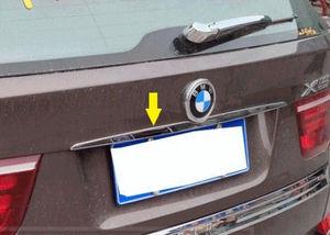 S.Steel Rear Trunk Tailgate trim strip molding Chrome For BMW X5 E70 X6 E71|molding chrome|bmw x5 chrome|chrome bmw x5 -
