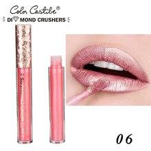 Sexy Metallic Colors Matte Pearls Lipstick Waterproof Lasting Matter Shimmer Nude Liquid Lipstick Lip Gloss Cosmetic New Arrival