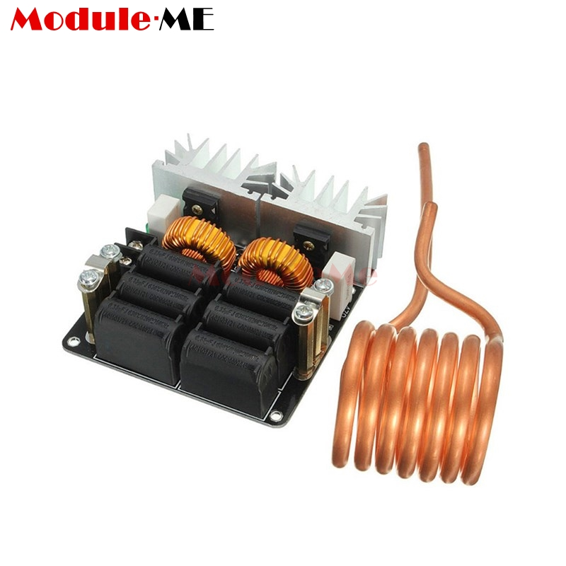 1Set 20A 1000W 12V 48V ZVS Low Zero Voltage Induction Heating Board Module Flyback Driver Heater High Power For DIY