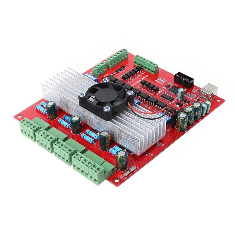 MACH3 CNC USB 100 Khz carte de dérivation 4 axes Interface pilote contrôleur de mouvement 14.5x17.5 cm