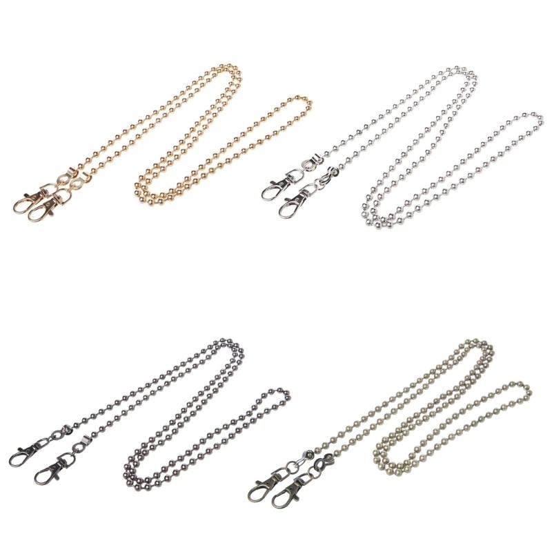 120cm Metal Chain For Women Shoulder Bags Handbag Handles For Diy Bag Strap Belt Luxury Hardware Accessories Purse Chain Kzc0004
