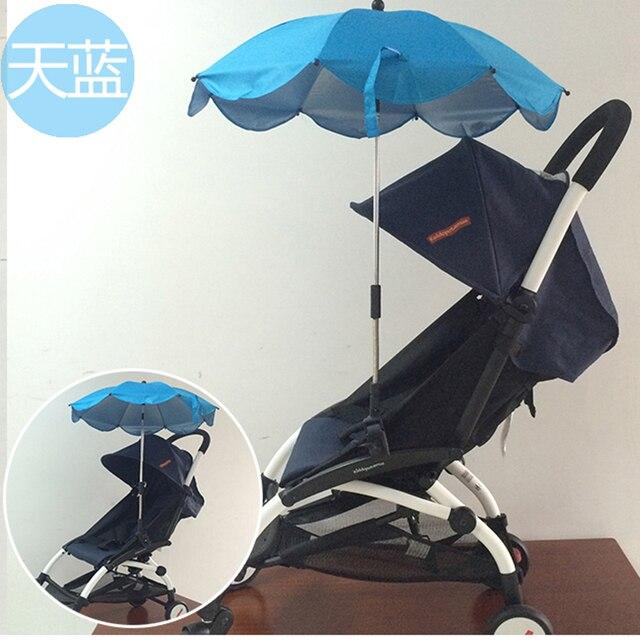 Зонтик , чтобы избежать дождя и солнца шир-синее. Он может приспосабливать детские трон, Yoya, Йо-йо. Kissbaby. Пандусы зонтик