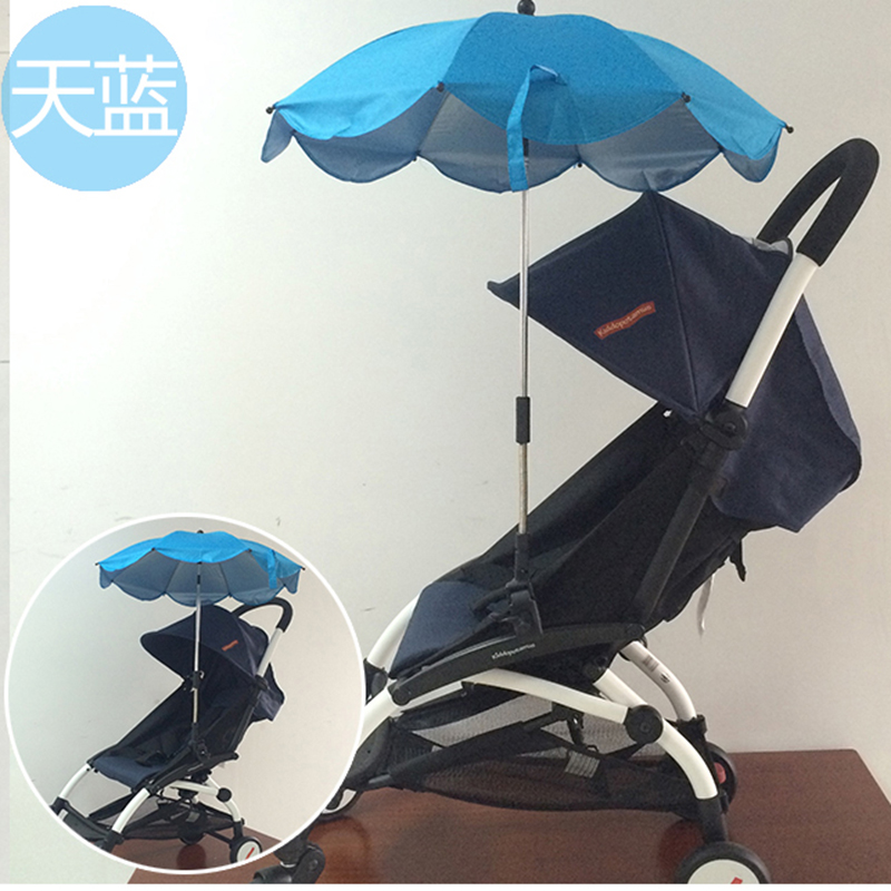 stroller umbrella to avoid rain and sun shire. it can fit baby throne, yoya, yoyo. kissbaby. wheelchair umbrella
