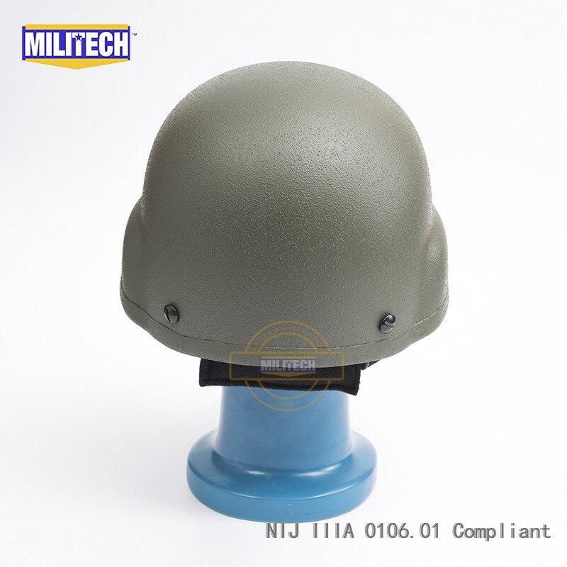 MILITECH OD NIJ IIIA 3A MICH kuulikindla kiivri aramiidi ACH - Turvalisus ja kaitse - Foto 3