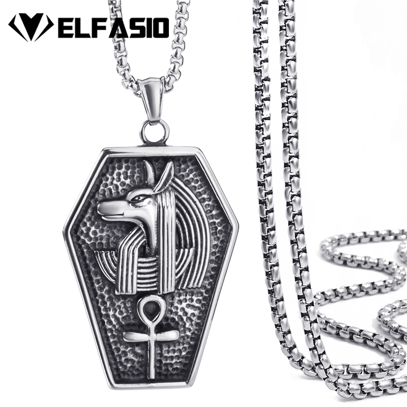 Chain Necklaces Jewelry & Accessories Punctual Silver Gold Black Color Viking Thors Hammer Pendant Necklace Biker Mens Stainless Steel Box Chain Necklace Choker Jewelry