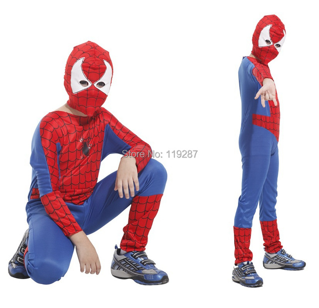 Children Spider Costumes Boy Halloween Party Cosplay Costume Tight Muscle Jumpsuit For kid  sc 1 st  AliExpress.com & Children Spider Costumes Boy Halloween Party Cosplay Costume Tight ...