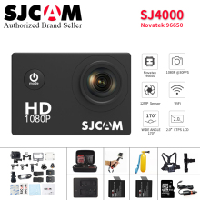 цена на Original SJCAM SJ4000 Action Camera 2.0 inch Sports DV 1080P HD Diving 30M go Waterproof pro yi mini Camcorder SJ 4000 Cam DVR