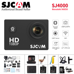 Original SJCAM SJ4000 Action Camera 2.0 inch Sports DV 1080P HD Diving 30M go Waterproof pro yi mini Camcorder SJ 4000 Cam DVR