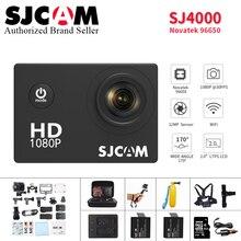 Original SJCAM SJ4000 Action Camera 2.0 inch Sports DV 1080P HD Diving 30M go Waterproof pro yi mini Camcorder SJ 4000 Cam DVR