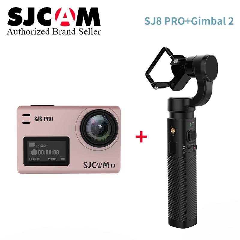 SJCAM SJ8 Pro SJ8 Série 4 K 60FPS WiFi À Distance Casque D'action Caméra Ambarella Chipset 4 K/60FPS Ultra HD Extreme Sport DV Caméra