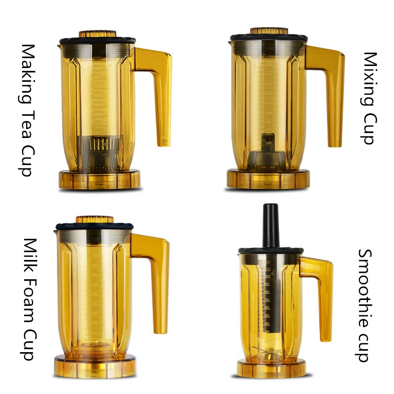 Multifunzionale 220 v Automatico Tè Extractor Juicer Macchina Frullato di Schiuma di Latte di Tè E Caffè Spremiagrumi EU/AU/UK Per commerciale Che Utilizza - 4