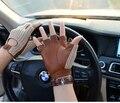 Мужские перчатки из натуральной кожи, мужские перчатки из овчины, кожаные перчатки для вождения, мужские кожаные перчатки для вождения