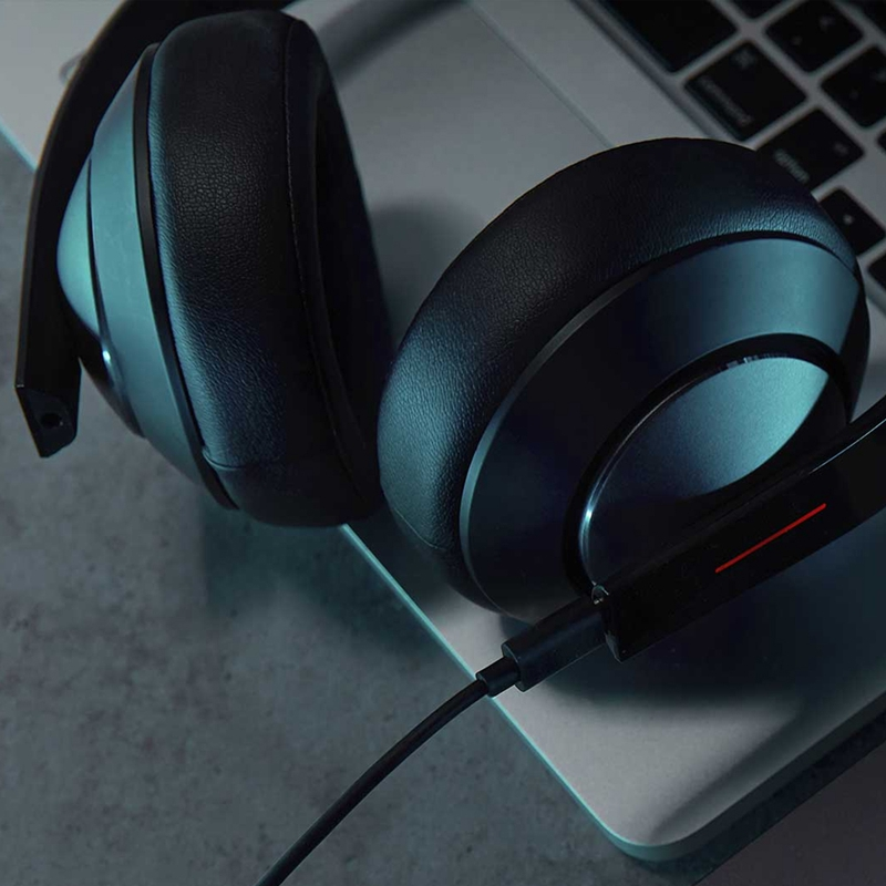 Image 5 - Original Xiaomi MI Gaming Headset 7.1 Virtual Surround Headphones 3.5mm With Microphone Noise Cancelling For PC PS4 Laptop Phone-in Phone Earphones & Headphones from Consumer Electronics