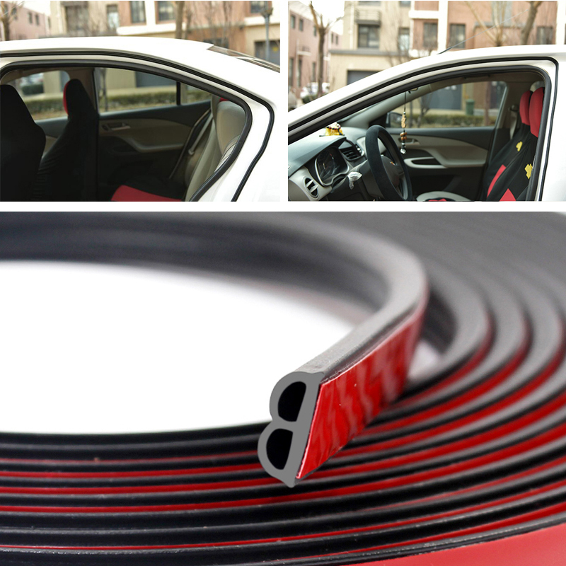 Car Stickers Door Seal Strips Sticker Weatherstrip Seals For <font><b>Mercedes</b></font> <font><b>Benz</b></font> W202 W220 W204 W203 W210 W124 W211 W222 X204 AMG CLK image