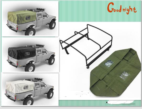Metal cargo bucket roll cage with tarpaulins for for Arceau exterieur defender 90