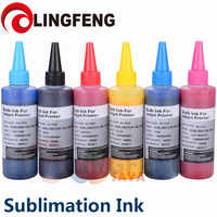 Sublimation Ink Heat Transfer Ink For EPSON Inkjet Printer (6 colorx100ml)