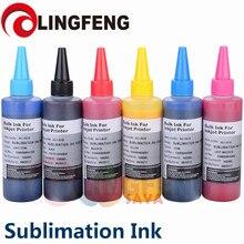 Tinta de sublimación Universal de 600ML, tinta de transferencia térmica para impresora de inyección de tinta EPSON, tinta de sublimación utilizada para tazón taza/camiseta