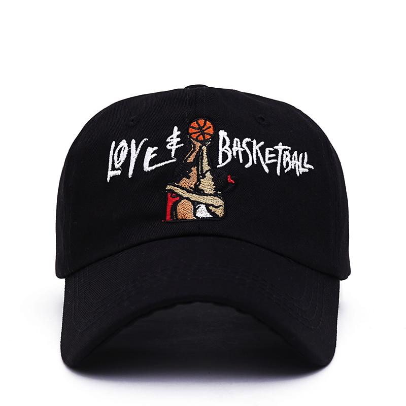 2017 new Dad Hats Love & Basketball Embroid Gorras Snapback Black   Baseball     Cap   Movie OG 90s Vtg Hip Hop Summer Hat for Men Women
