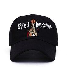 189003592f070 2017 nuevo papá sombreros amor y baloncesto Embroid Gorras Snapback gorra  de béisbol negro película OG 90 s Vtg Hip Hop sombrero.