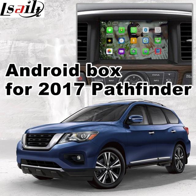 android 6 0 gps navigation box for 2017 nissan pathfinder. Black Bedroom Furniture Sets. Home Design Ideas