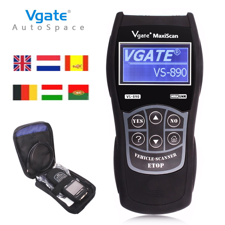 Universal OBD2 Auto Scanner Vgate VS890 Maxiscan Fault Code Reader Diagnostic Scan font b Tool b