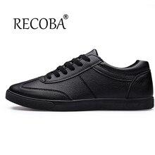 Männer schuhe casual weiß schwarz lace up luxus marke atmungsaktive feste wohnungen mens trainer schuhe sport skate schuhe zapatos hombre