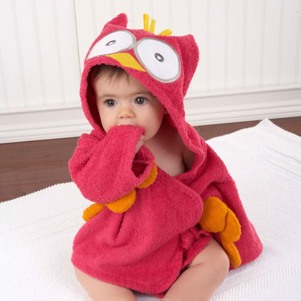 Bathrobe-Children-Skin-Friendly-Hooded-Baby-Bathrobes-Animal-Modeling-Newborn-Bathrobes- Kids-Robe-Cartoon-Towe -T0020 (5)