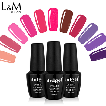 48pcs/lot ibdgel Gelatu series nail gel polish 120 Colors 15ml Jar Pure Varnish Nail Art Salon Recommended Soak UV/LED lamp