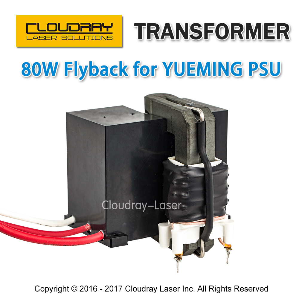 Cloudray High Voltage Flyback Transformer for YUEMING Co2 Laser Power Supply JG1500 JCY-1500 igrobeauty простыня 90 х 200 см 18 г м2 материал sms 50 шт простыня 90 х 200 см 18 г м2 материал sms 50 шт белый 50 шт