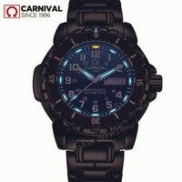 T25 трития Световой мужские часы Waterproof200m военный дайвинг спорт кварцевые часы мужчины люксовый бренд часы erkek коль saati reloj