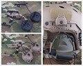 Emerson FAST Helmet Accessories RAIL ADAPTER SET Peltor Comtac Headset Ops-Core Helmet ARC Rail Adapter FOR C1 C2 C4 BD5672
