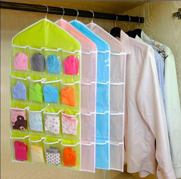 Hause Unterwäsche Closet Pouch Baby Wickeltasche Spielzeug Socken Fall Staubdichte Taschen Faltbare Grundlagen Stoff Aufbewahrungsbox