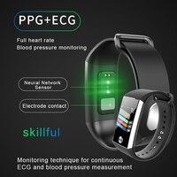 S28 Smart Bracelet Sport Health Waterproof Bluetooth Blood Pressure Heart Rate Smart Watch for Apple for Samsung