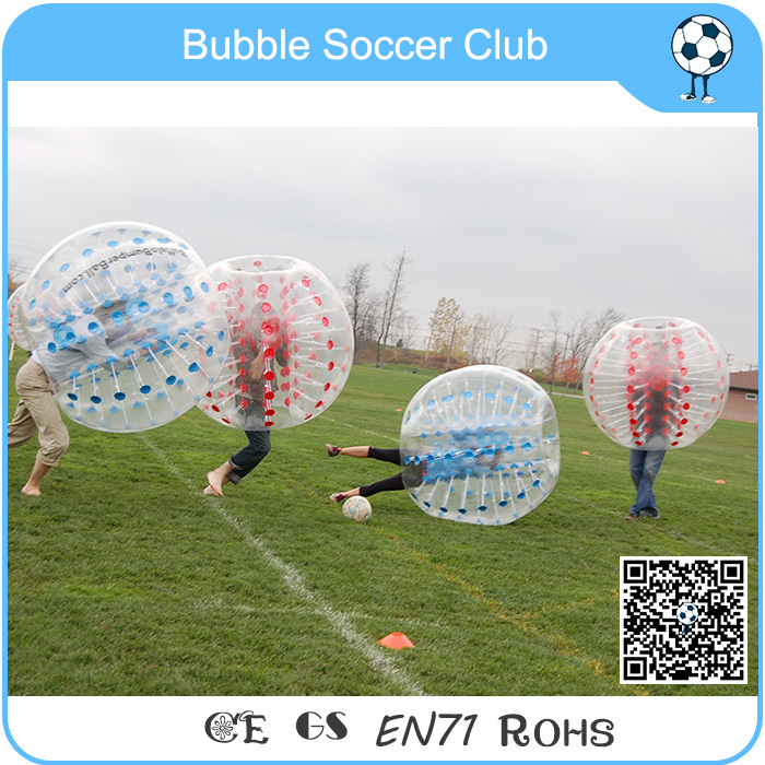Amazing 1.5m top quality PVC inflatable ball suit, soccer bubble,bumper ball cheapest crazy best material tpu inflatable body bumper ball bubble soccer ball bubble ball for football