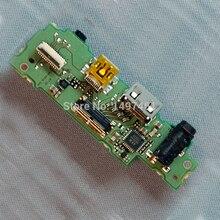 Gebruikt USB Interface jack board Reparatie onderdelen voor Canon EOS 60D DS126281 SLR