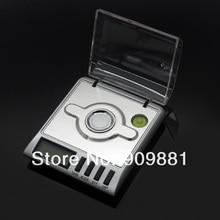 0.001g Precisión Portátiles Balanzas Electrónicas Joyería 30g/0.001 Diamante Oro Germen Medicinales Digital Pocket Escala de Pesaje Balanza