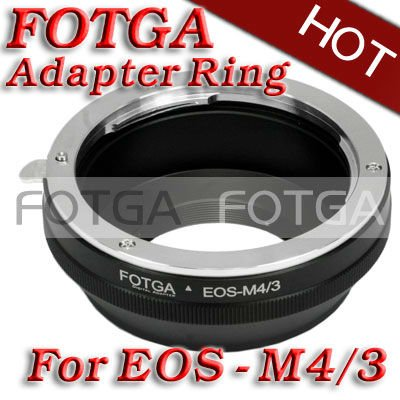 Wholesale FOTGA Lens Adapter Ring For Canon Lens to Micro 4 3 m4 3 Adapter for